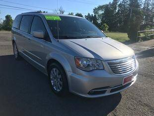 2012 Chrysler Town and Country for sale at FUSION AUTO SALES in Spencerport NY