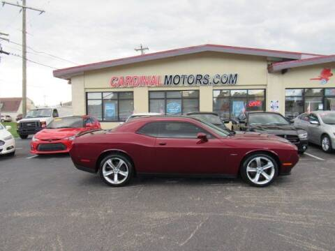 2018 Dodge Challenger for sale at Cardinal Motors in Fairfield OH