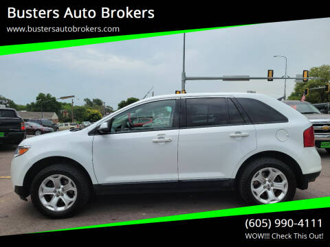 2014 Ford Edge for sale at Busters Auto Brokers in Mitchell SD