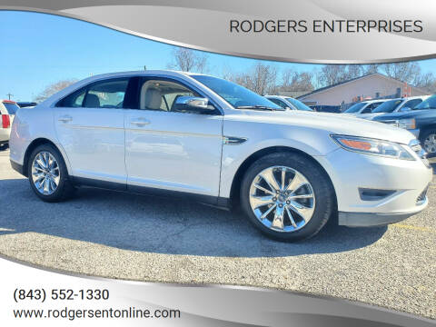 2010 Ford Taurus for sale at Rodgers Enterprises in North Charleston SC
