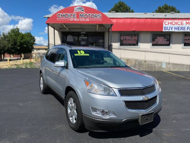 2010 Chevrolet Traverse for sale at Choice Motors of Salt Lake City in West Valley  City UT