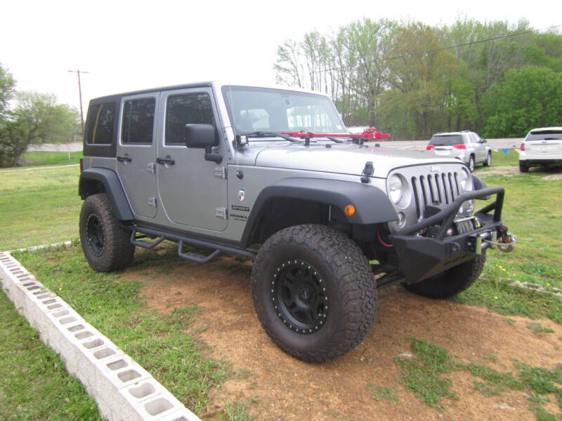 2014 Jeep Wrangler Unlimited for sale at Geaux Texas Auto & Truck Sales in Tyler TX