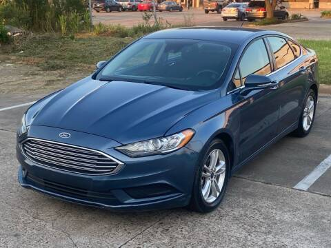 2018 Ford Fusion for sale at Hadi Motors in Houston TX
