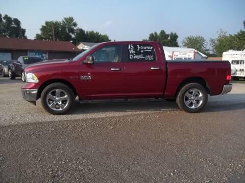 2015 RAM Ram Pickup 1500 for sale at BRETT SPAULDING SALES in Onawa IA