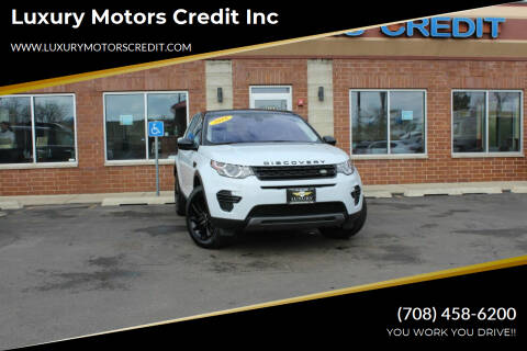 2018 Land Rover Discovery Sport for sale at Luxury Motors Credit Inc in Bridgeview IL