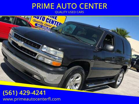 2006 Chevrolet Tahoe for sale at PRIME AUTO CENTER in Palm Springs FL