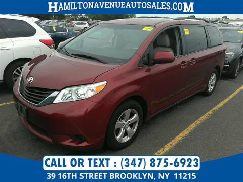 2014 Toyota Sienna for sale at Hamilton Avenue Auto Sales in Brooklyn NY