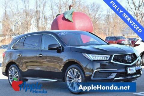 2018 Acura MDX for sale at APPLE HONDA in Riverhead NY