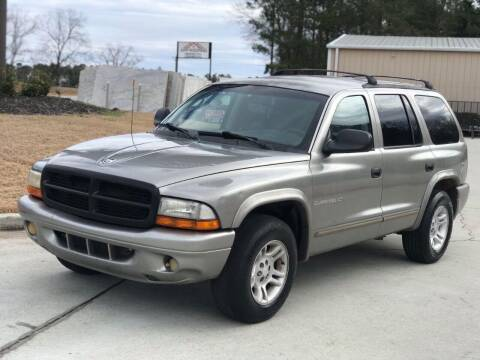 2001 Dodge Durango for sale at Two Brothers Auto Sales in Loganville GA