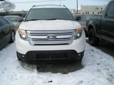 2014 Ford Explorer for sale at ZJ's Custom Auto Inc. in Roseville MI
