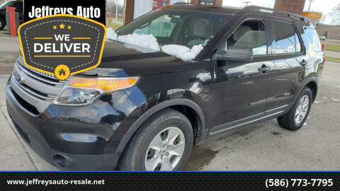 2012 Ford Explorer for sale at Jeffreys Auto Resale, Inc in Clinton Township MI