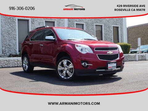 2015 Chevrolet Equinox for sale at Armani Motors in Roseville CA