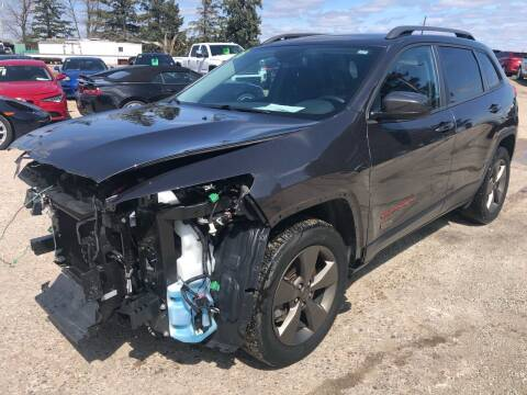 2016 Jeep Cherokee for sale at SUNSET CURVE AUTO PARTS INC in Weyauwega WI