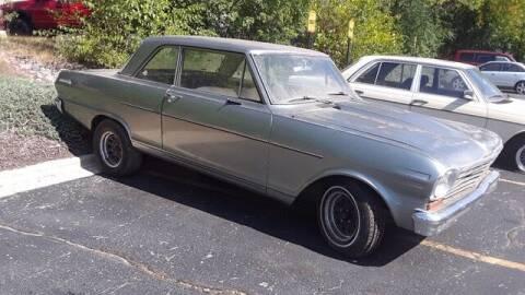 1963 Chevrolet Nova for sale at Naperville Auto Haus Classic Cars in Naperville IL