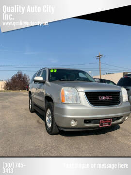 2007 GMC Yukon for sale at Quality Auto City Inc. in Laramie WY