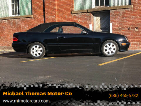 2000 Mercedes-Benz CLK for sale at Michael Thomas Motor Co in Saint Charles MO