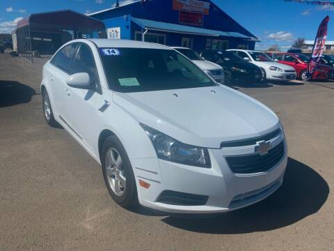 2014 Chevrolet Cruze for sale at 4X4 Auto in Cortez CO