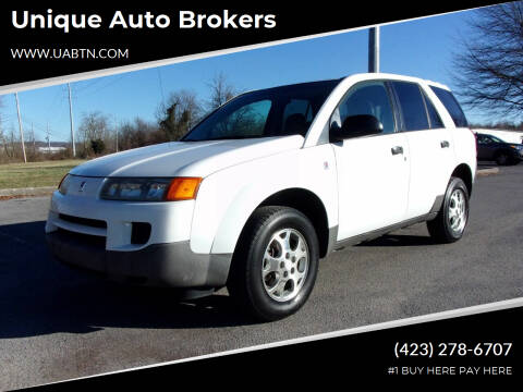 2004 Saturn Vue for sale at Unique Auto Brokers in Kingsport TN