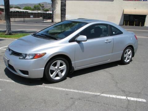 2006 Honda Civic for sale at M&N Auto Service & Sales in El Cajon CA