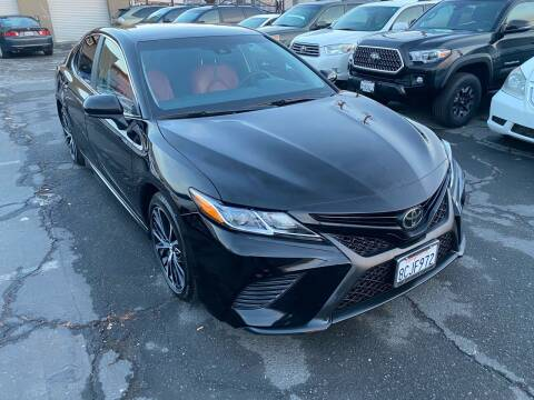 2018 Toyota Camry for sale at 101 Auto Sales in Sacramento CA