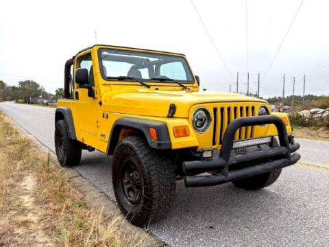 2004 Jeep Wrangler for sale at Classic Car Deals in Cadillac MI