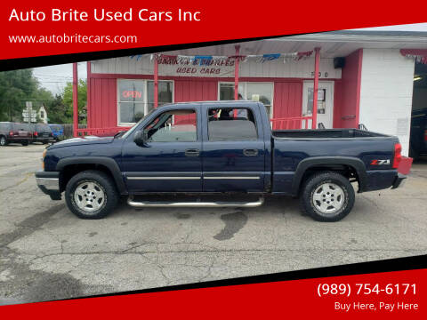 2005 Chevrolet Silverado 1500 for sale at Auto Brite Used Cars Inc in Saginaw MI