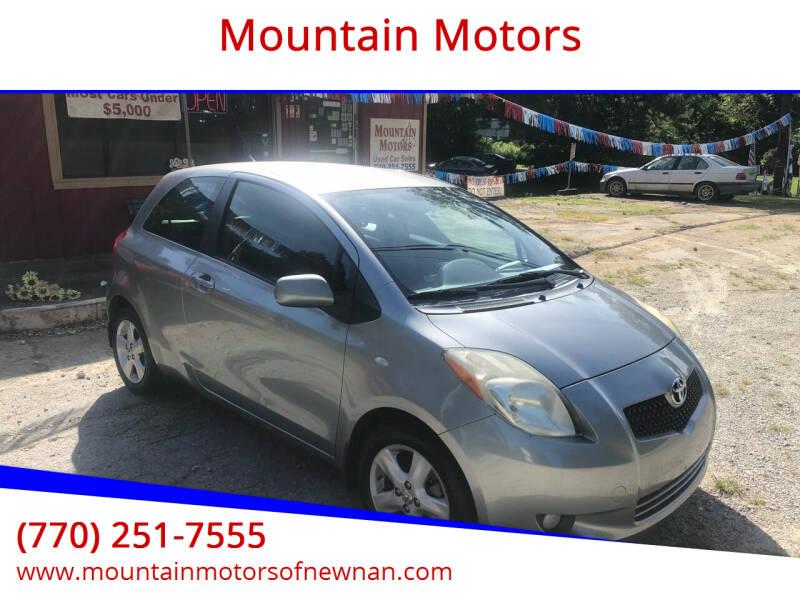 2008 Toyota Yaris for sale at Mountain Motors in Newnan GA
