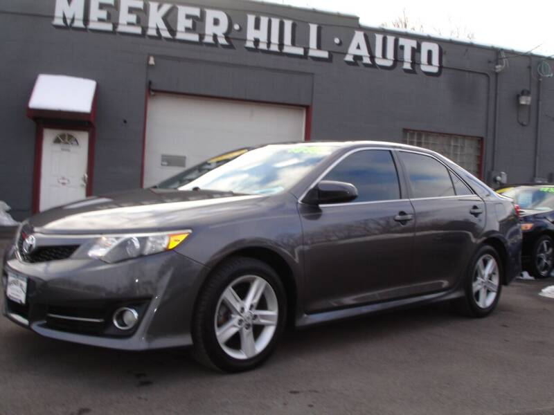 2013 Toyota Camry for sale at Meeker Hill Auto Sales in Germantown WI