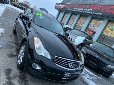 2008 Infiniti EX35 for sale at Washington Auto Group in Waukegan IL