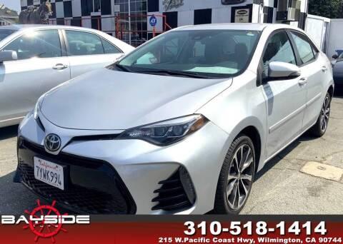 2017 Toyota Corolla for sale at BaySide Auto in Wilmington CA
