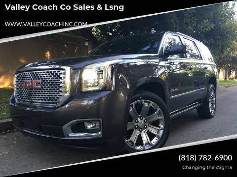 2015 GMC Yukon for sale at Valley Coach Co Sales & Lsng in Van Nuys CA