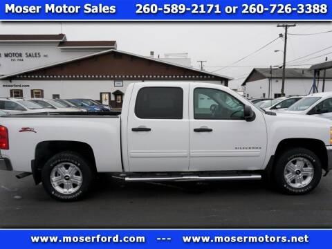 2012 Chevrolet Silverado 1500 for sale at Moser Motors Of Portland in Portland IN