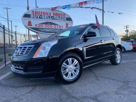 2013 Cadillac SRX for sale at Arizona Drive LLC in Tucson AZ
