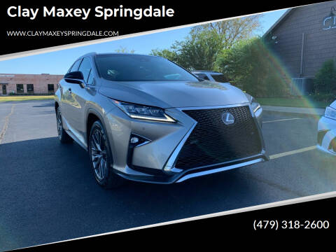 2019 Lexus RX 350 for sale at Clay Maxey Springdale in Springdale AR