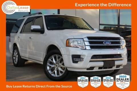 2016 Ford Expedition for sale at Dallas Auto Finance in Dallas TX