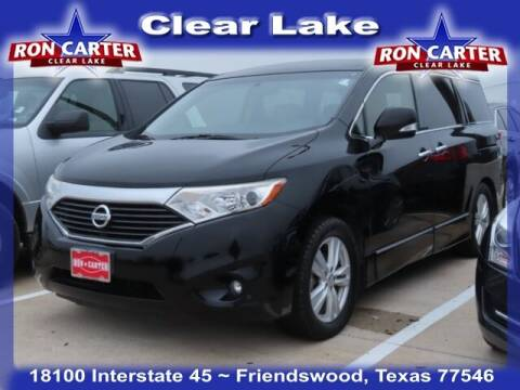 2014 Nissan Quest for sale at Ron Carter  Clear Lake Used Cars in Houston TX