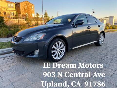 2008 Lexus IS 250 for sale at IE Dream Motors-Upland in Upland CA