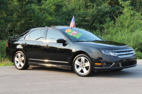 2012 Ford Fusion for sale at McMinn Motors Inc in Athens TN