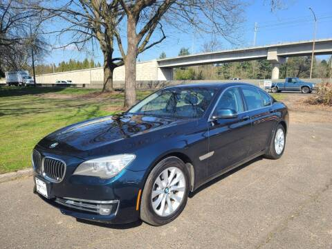 2013 BMW 7 Series for sale at EXECUTIVE AUTOSPORT in Portland OR