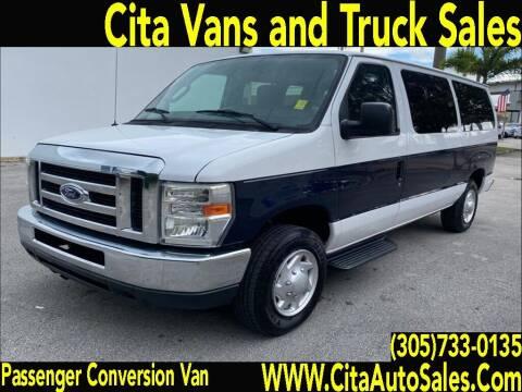 2012 FORD ECONOLINE PASSENGER VAN CONVERSION VAN for sale at Cita Auto Sales in Medley FL
