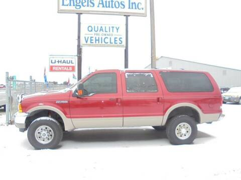 2001 Ford Excursion for sale at Engels Autos Inc in Ramsey MN