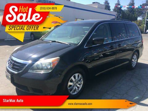 2008 Honda Odyssey for sale at StarMax Auto in Fremont CA
