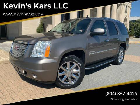 2014 GMC Yukon for sale at Kevin's Kars LLC in Richmond VA