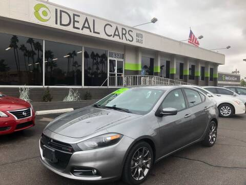 2013 Dodge Dart for sale at Ideal Cars East Main in Mesa AZ