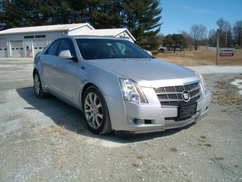 2009 Cadillac CTS for sale at Castleton Motors LLC in Castleton VT