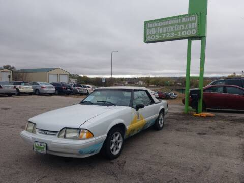 1992 Ford Mustang for sale at Independent Auto in Belle Fourche SD