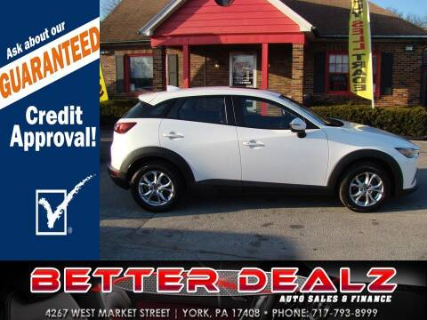 2016 Mazda CX-3 for sale at Better Dealz Auto Sales & Finance in York PA