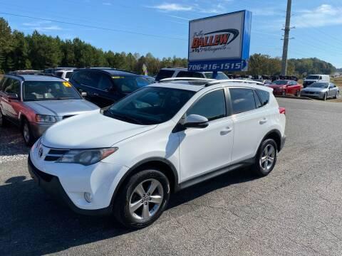 2015 Toyota RAV4 for sale at Billy Ballew Motorsports in Dawsonville GA