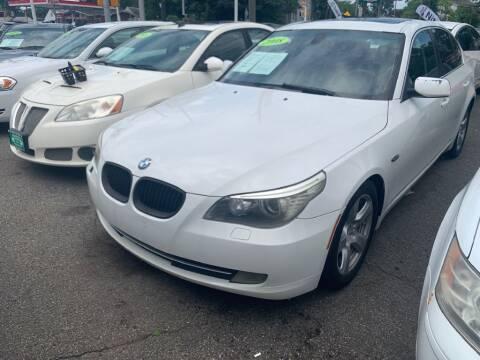 2008 BMW 5 Series for sale at Park Avenue Auto Lot Inc in Linden NJ