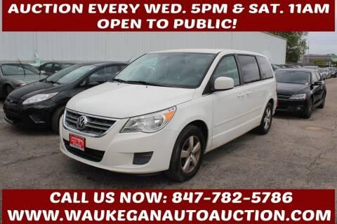 2010 Volkswagen Routan for sale at Waukegan Auto Auction in Waukegan IL